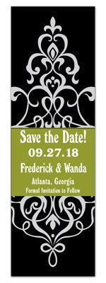 Wedding Save The Date Photo Booth | Damask On Green