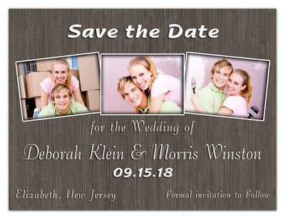 Three Photo Save the Date Magnets | We Do | MAGNETQUEEN