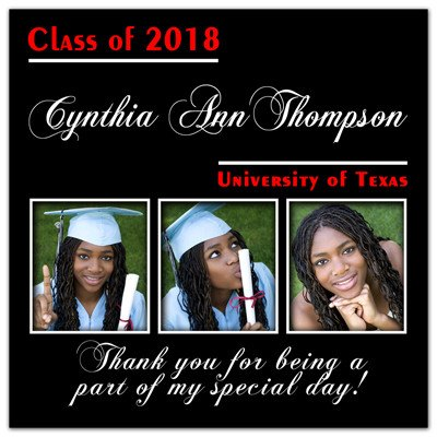 Graduation Photo Favors | Three Squared | MAGNETQUEEN