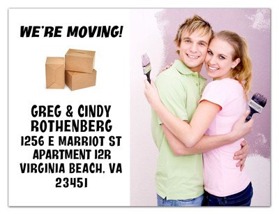 Moving Photo Magnet | Movin' Out | MAGNETQUEEN