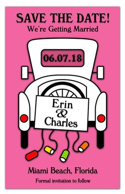 Save the Date | Car Cans