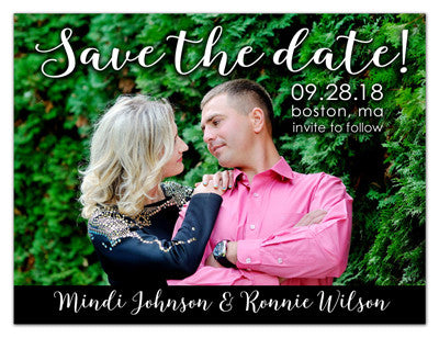 Save The Date Photo Magnets | Fun Love | MAGNETQUEEN