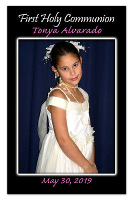 Communion Photo Magnets | Glowing In White | MAGNETQUEEN