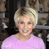 Linen Gold Short Wig (Hair Root Black)