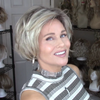 Popular Platinum Short Wig (Hair Root Black)