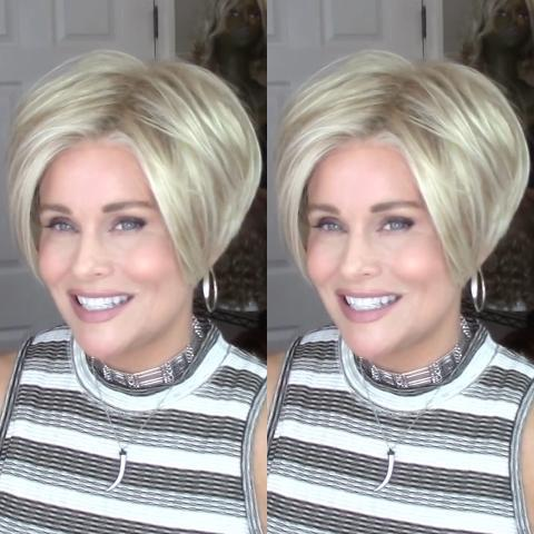 Champagne Gold Short Wig