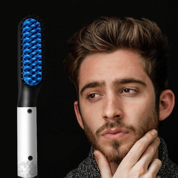 (New Year Promotion- 62% OFF Today! ) Multifunctional Hair Comb Beard Straightener