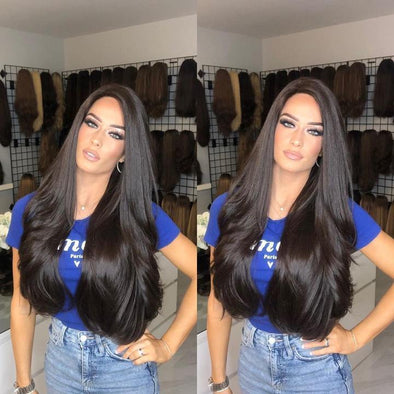 2020 Beauty Long Natural Black Hair