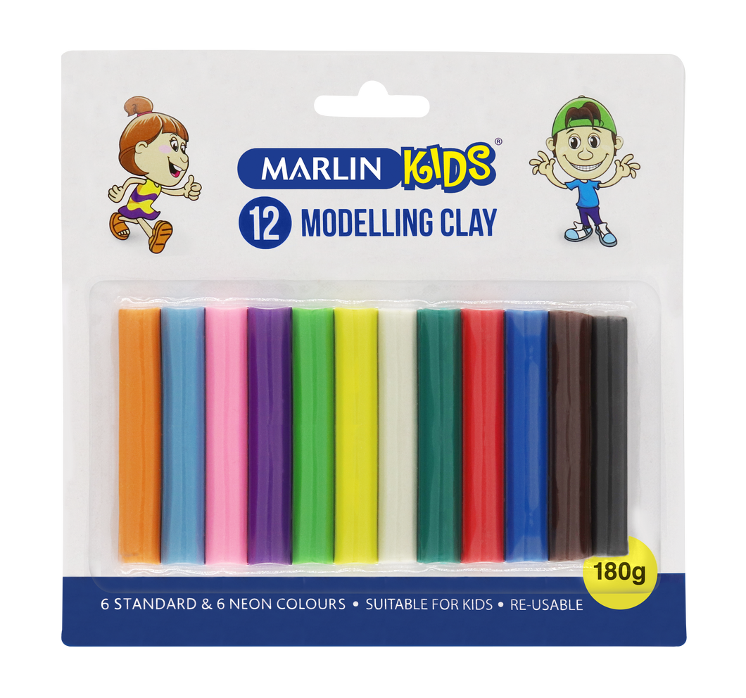 Marlin Kids Modelling Clay - Beaux-Arts Kidz Kraftz