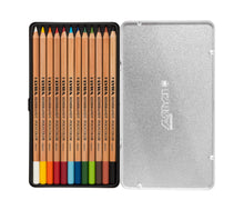 Load image into Gallery viewer, Lyra Rembrandt Polycolour - 12 Piece Metal Box - Beaux-Arts Kidz Kraftz