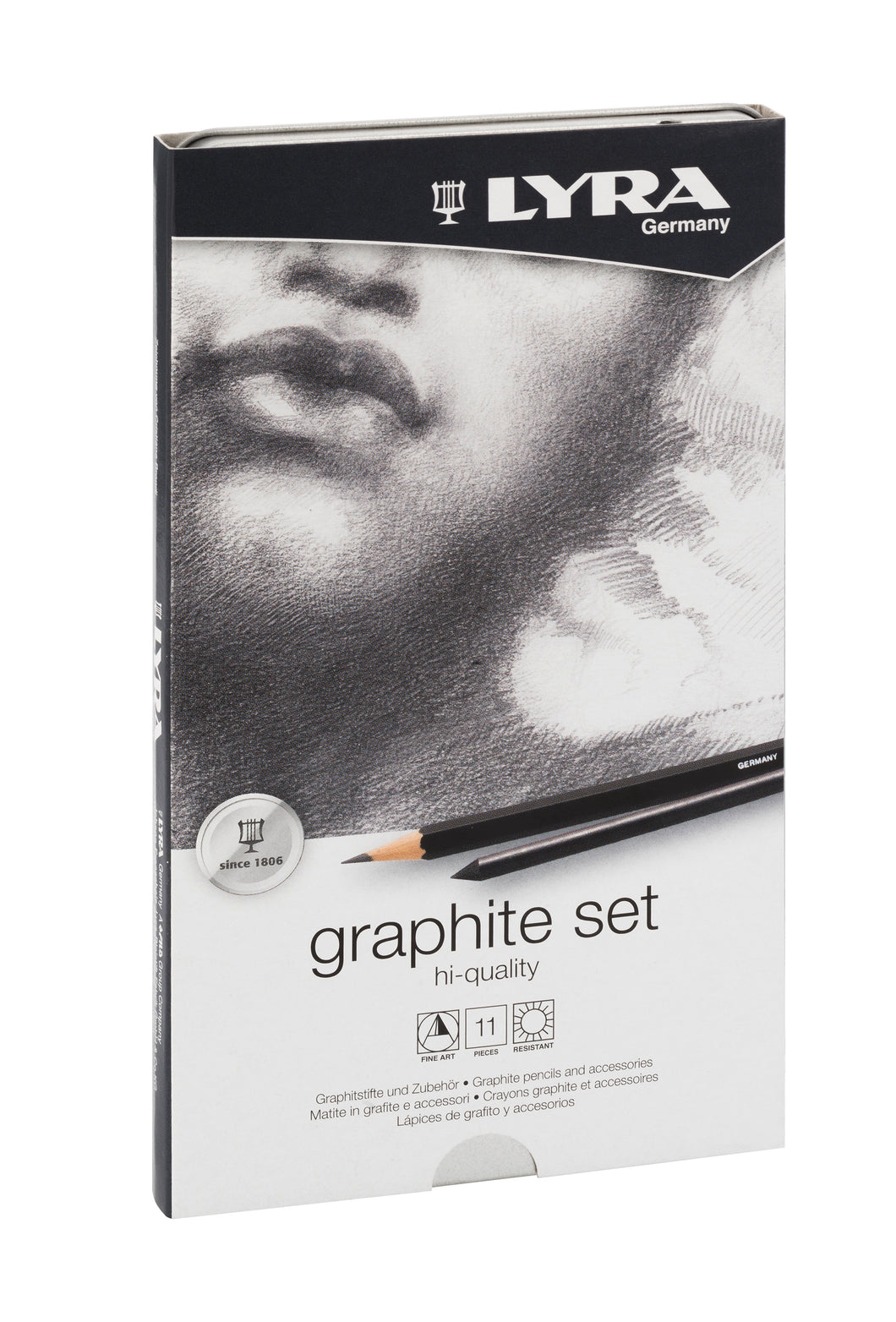 Lyra Graphite Set - Beaux-Arts Kidz Kraftz