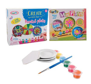 Create Your Own Mini Plate Set - Beaux-Arts Kidz Kraftz