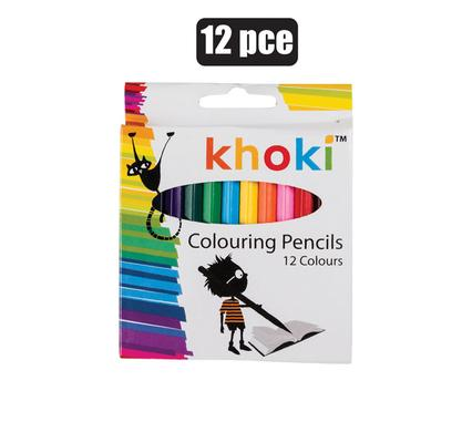 Khoki Colouring Pencils - Beaux-Arts Kidz Kraftz