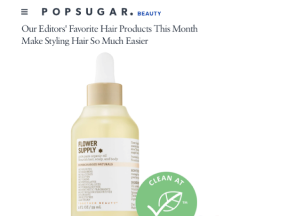our editors' favorite hair products this month make styling hair so much easier