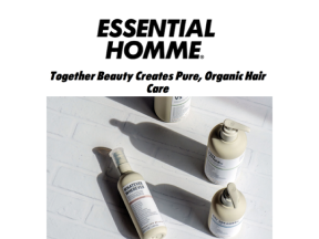 together beauty creates pure, organic hair care