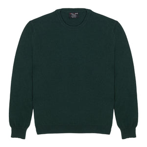 Round Neck 100% Cashmere Men