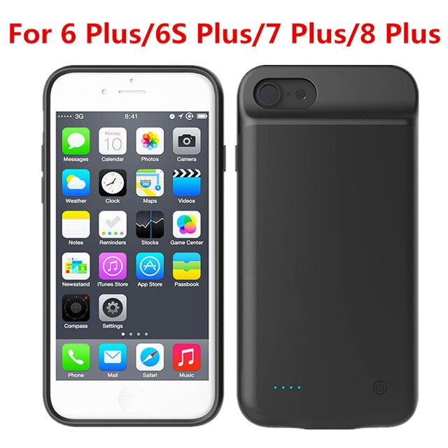 4000mAh Power Bank Battery Charger Case For iPhone SE 5SE 5 5S 6 6s Case Powerbank Charger Case For iPhone XSXrXS Max7 8 Plus