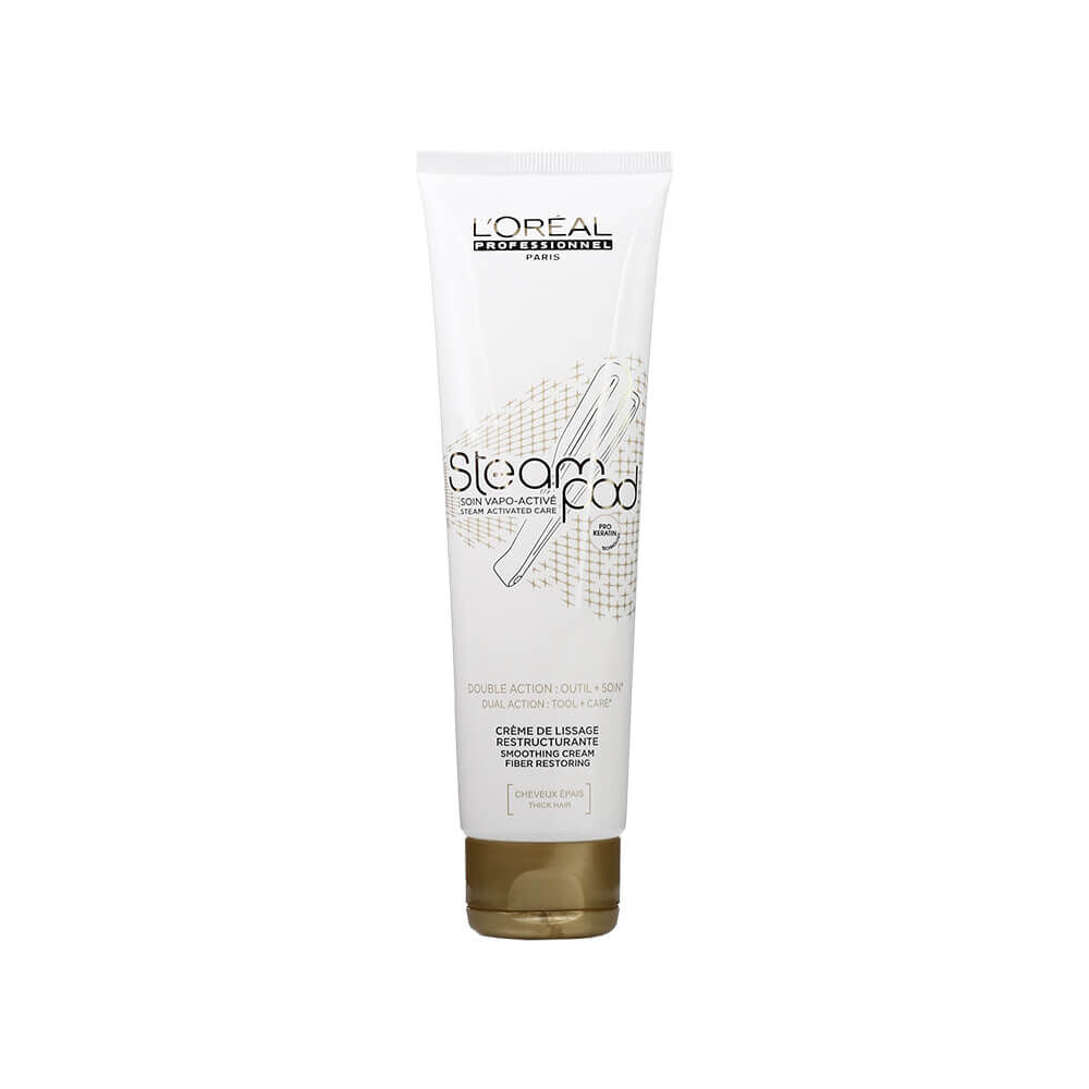 L'Oreal Professionnel Steampod Smoothing Cream, Thick Hair, 150ml - Brazilian Soul Beauty L'Oréal Professionnel - Brazilian Soul Beauty