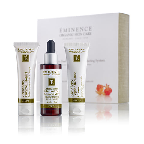 Arctic Berry Peel & Peptide Illuminating System - Brazilian Soul Beauty EMINENCE - Brazilian Soul Beauty