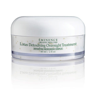 Lotus Detoxifying Overnight Treatment - Brazilian Soul Beauty EMINENCE - Brazilian Soul Beauty