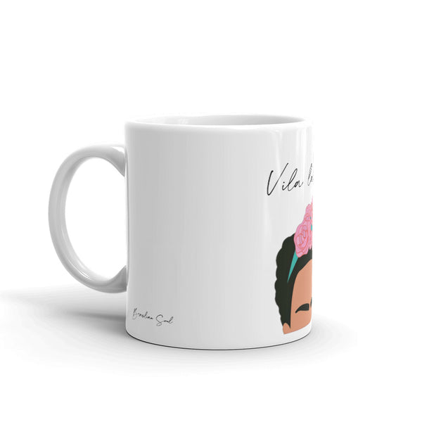 Viva la vida - Frida Mug - Brazilian Soul Beauty Brazilian Soul Beauty - Brazilian Soul Beauty