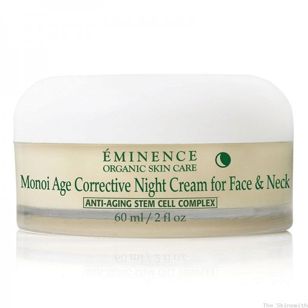 Monoi Age Corrective Night Cream for Face & Neck - Brazilian Soul Beauty EMINENCE - Brazilian Soul Beauty