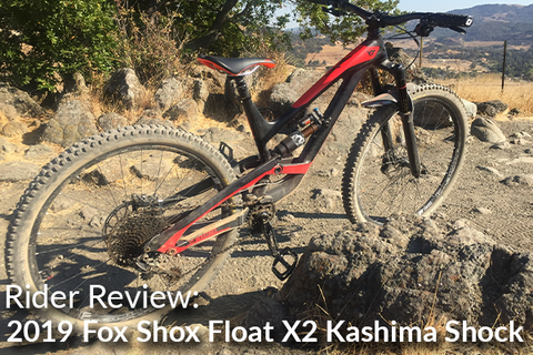 2019 Fox Shox Float X2 Kashima Rear Shock: Rider Review