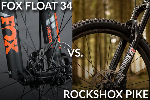 2018 RockShox Pike vs Fox 34 Fork Comparison (Mid Travel Showdown) [Video]