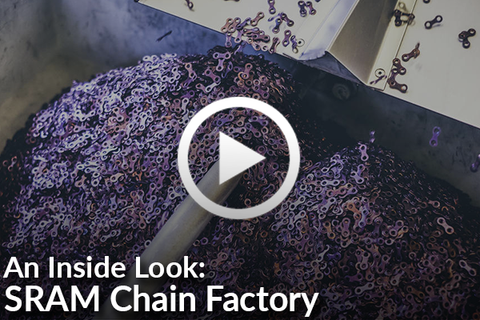 SRAM Chain Factory Tour (An Inside Look!) [Video]