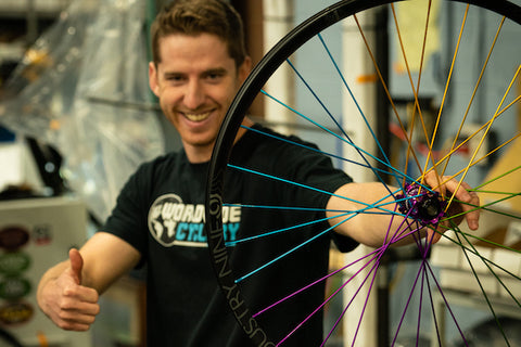 What Goes Into Building Wheels at Industry Nine