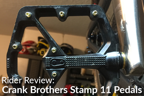 Crank Brothers Stamp 11 Large Pedals: Rider Review