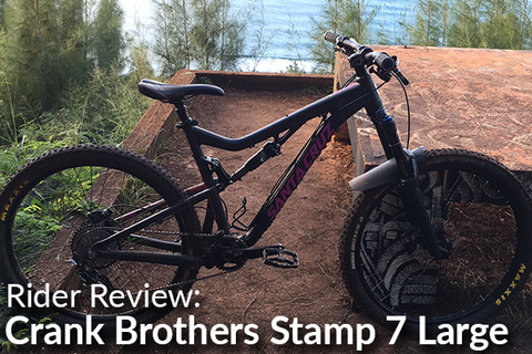 Crank Brothers Stamp 7 Large Pedals: Rider Review