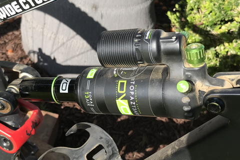 DVO Topaz Air Shock: Rider Review