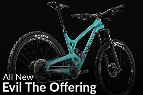 Evil Bicycles' New 29er The Offering (The New Sheriff in Town)