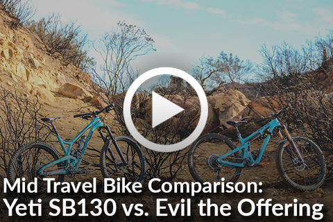 Yeti SB130 vs. Evil The Offering - Is One Better Than The Other? [Video]