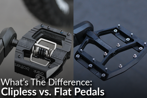 Flat vs. Clipless Pedals: What Is Best for You? [Video]