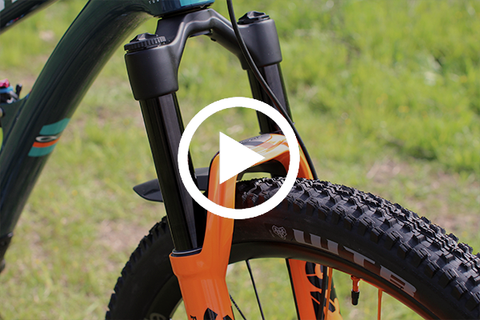 Fox 36 Fork Stanchion Swap | Kashima To Black [Video]