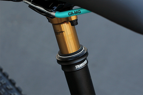 Fox Shox Transfer Dropper Seat Post: Rider Review