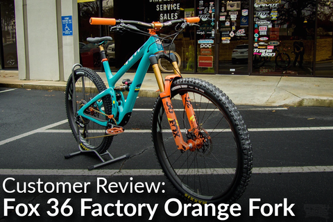 Fox 36 Factory Series Shiny Orange Fork: Customer Review