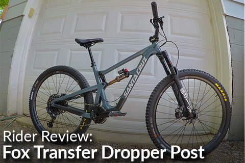 Fox Transfer Post: Rider Review