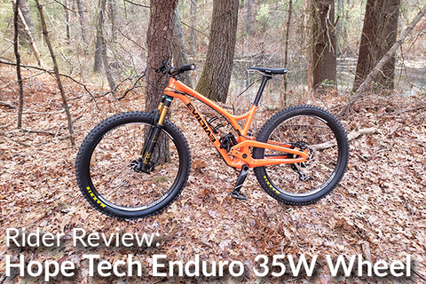 Hope Tech Enduro 35W Front Wheel: Rider Review