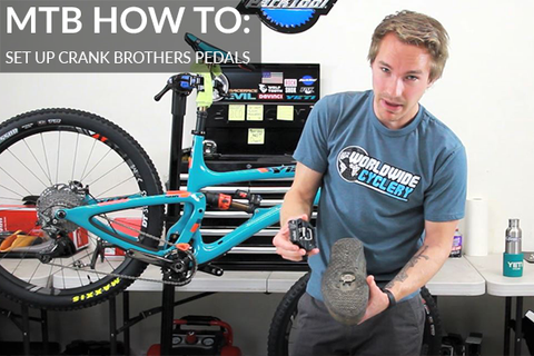 How to Set Up Crank Brothers Pedals In Ridiculous Detail [Video]