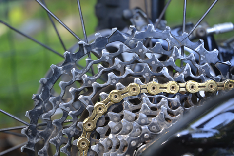 KMC X11SL 11-Speed Ti Nitride Gold Chain: Rider Review