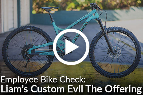Liam's Evil The Offering (Bike Check) [Video]
