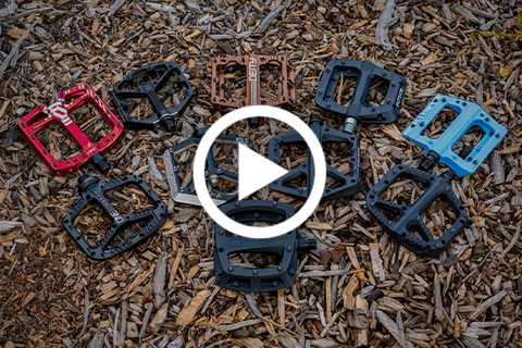 MTB Flat Pedals Buyer's Guide (Your One Stop Shop!) [Video]