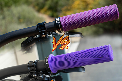 MTB Grips: Thick vs Thin (Deity Supracush vs PNW Loam Grip)