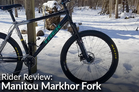 Manitou Markhor Fork: Rider Review (A Budget Fork for Any Rider)