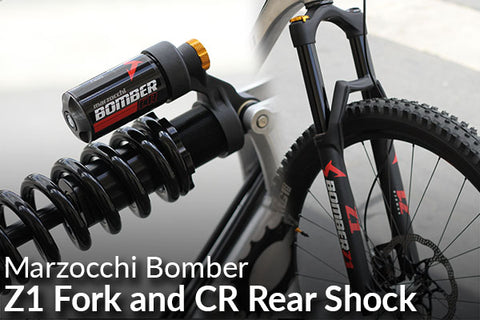 Marzocchi Bomber Z1 Fork / CR Coil Rear Shock: Employee Review (Better Suspension for Half the Cost!)