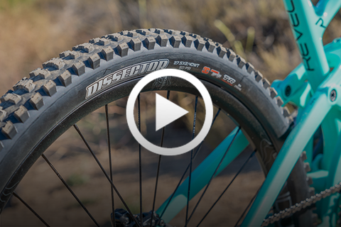 Maxxis Dissector - The BRAND NEW Tire From Maxxis (First Ride & Overview) [Video]