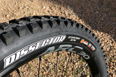 Maxxis Dissector Tire and Orange Seal Endurance Sealant:  Rider Review